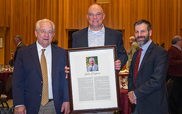 John Warjone inducted into Forestry Leadership Hall